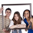 Friends picture — Stockfoto