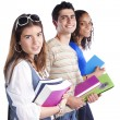 Three teenage students — Stock Photo #8463314