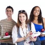Three teenage students — Stock Photo #8463324