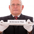 Stock Photo: Insurance plan