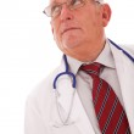 Senior doctor — Stock Photo #8465569