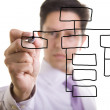 Stock Photo: Organization chart