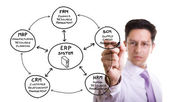 ERP Solution — Stock Photo