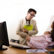 Harassment at the office — Stock Photo