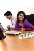 Team business sicuro e di successo — Foto Stock