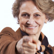 Beautiful senior woman — Stock Photo