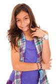 Fashion little girl — Stock Photo