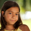 Young child face — Stock Photo