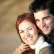 Love and affection between a young couple — Stock Photo #8630368