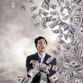Finance storm — Stock Photo