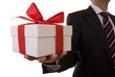 Offerta di uomo d'affari — Foto Stock
