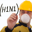 Alert for A(H1N1) — Stock Photo