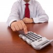 Accountant businessman — Stock Photo