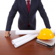 Architect at the office — Stock Photo #8657605
