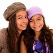 Young happy sisters — Stock Photo