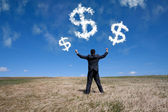 Successful ecological business — Stock Photo