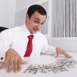 Crazy about money — Stock Photo