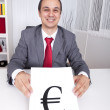 Euro currency power — Stock Photo #8661524