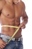 Idealny brzuch — Zdjęcie stockowe