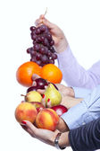 Healthy fruit choice — Stock Photo