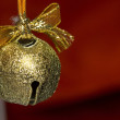 Stock Photo: Jingle bell on christmas