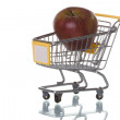Buying apples at the supermarket — Stock Photo #8670151