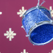 Christmas drum (selective a soft focus) — Photo