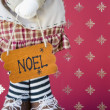 Stock Photo: Noel board