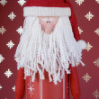 Santas Decoration — Stock Photo