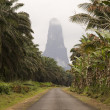 Sao Tome big rock — Stock fotografie