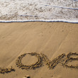Love at the beach — Stock Photo