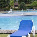 Pool chair — Stock Photo #8672033