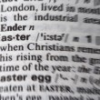 Stock Photo: Easter word