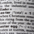 Easter word — Stock Photo
