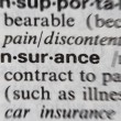 Word Insurance - Stock Photo