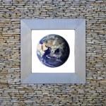 Earth Window (asia) — Stock Photo #8673152
