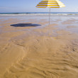Parasol at the beach — Stock Photo #8673534