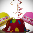 New Years Hats — Stock Photo