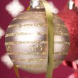 Stock Photo: Christmas ball background