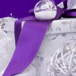 Christmas present decoration — Stockfoto