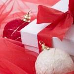 Christmas present decoration — Stock Photo