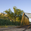 Railroad bridge — Stock Photo #8675119