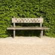 Stock Photo: Lonely bench