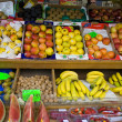 BarcelonBoquerimarket fruits display — Stock Photo #8676017