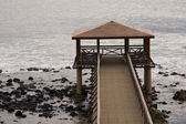 Bungalow pier — Stock Photo