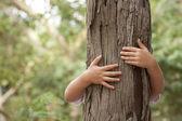 Milující přírodu — Stock fotografie