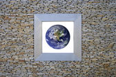 Earth Window (north america) — Stock Photo