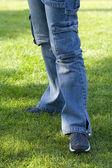 Modern Jeans — Stock Photo
