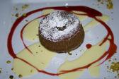 Cake desert — Stock Photo