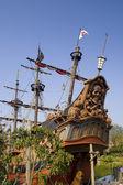 Pirátská loď — Stock fotografie